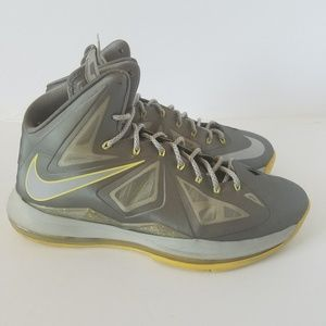 "LEBRON X ""CANARY DIAMOND 12"
